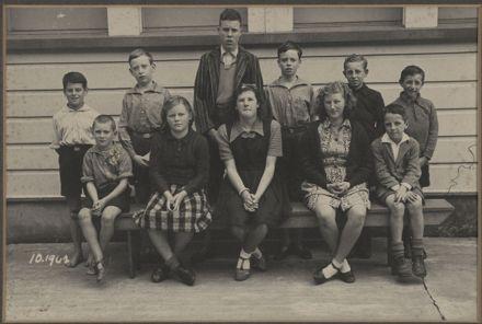 Terrace End School - Prefects, 1942