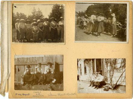 Craven School for Girls Photograph Album Page 1