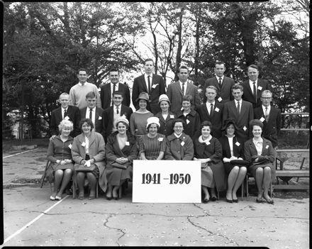 Linton School Jubilee - 1941-1950 Group