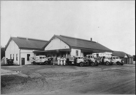 Awahuri Co-operative Dairy Company Limited factory, Kauwhata
