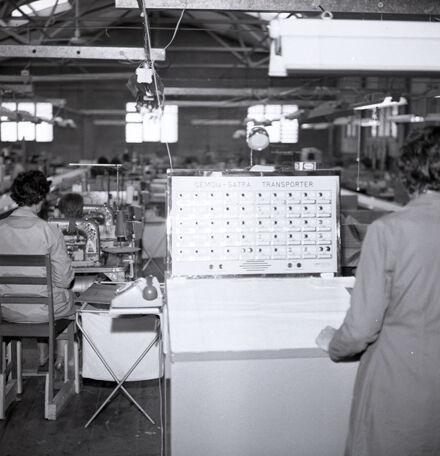 Making Cloth at Jacquard Hosiery Mill
