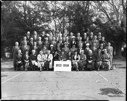 Linton School Jubilee - 1921-1930 Group