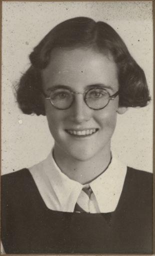 Ann Henson - Terrace End School Dux, 1943
