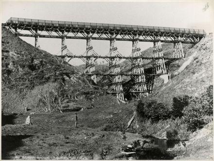 The Belmont Viaduct: Wellington - Manawatu Line train bridge