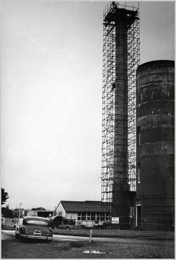 Boiler chimney, Palmerston North Hospital