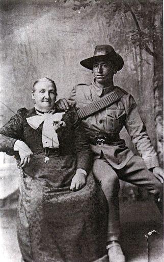 Emma Finnis and her son, William Aldridge