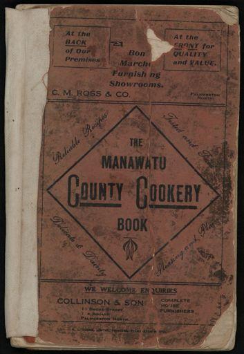 The Manawatu County Cookery Book