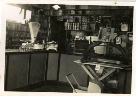 Inside Arthur Kearns' Four Square Grocery