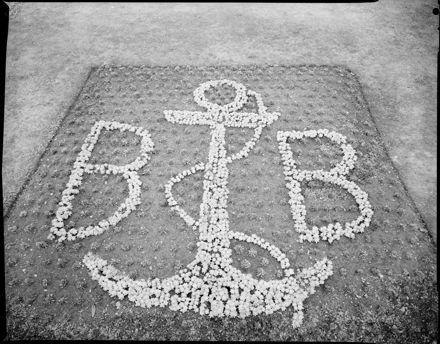 """Boys' Brigade Jubilee""  Floral Emblem"