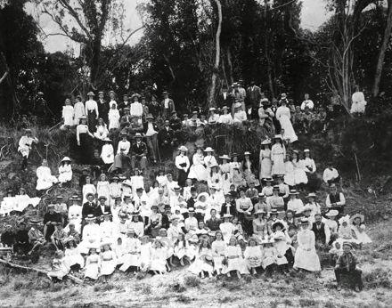 Methodist Church gathering