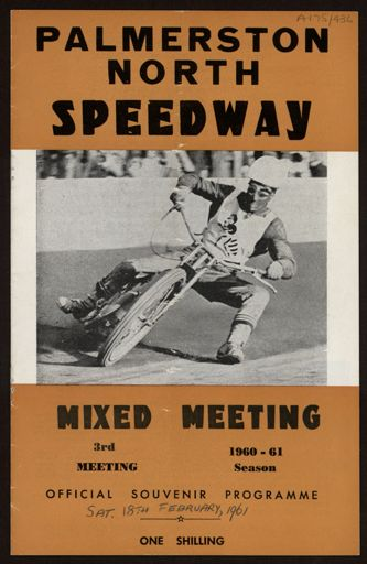 Palmerston North Speedway - Mixed Meeting, programme
