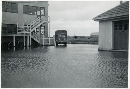 Libertyland Factory during a Flood