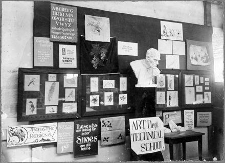 Palmerston North Technical School Art Department Exhibition
