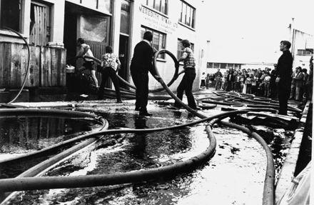 Fire at Meredith McKay Ltd, Berryman's Lane