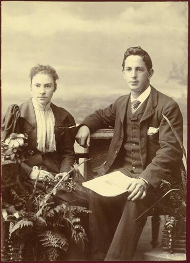 James and Getrude Hallam