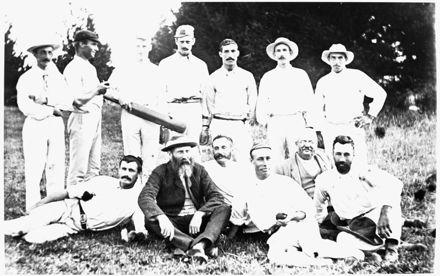 Cricket team at Kairanga