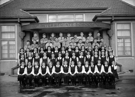 Palmerston North Intermediate Normal Class Photo