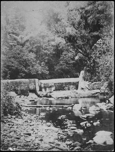 First Turitea Dam