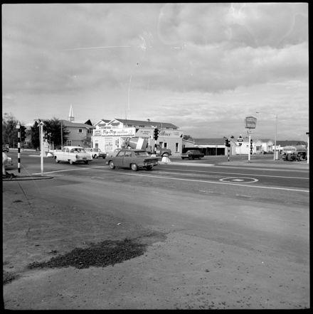 Corner of Fitzherbert Avenue and Ferguson Street