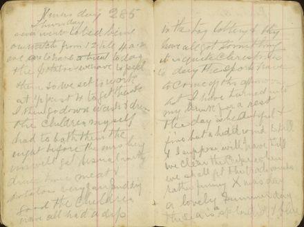 Shipboard diary p38