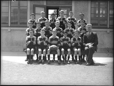 Rugby team, Palmerston North Intermediate School