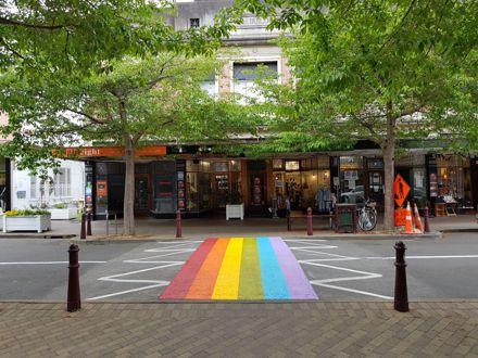 Rainbow Cross Walk, George Street