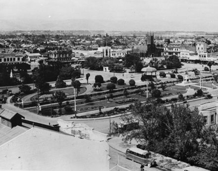 Panorama of The Square, 1937