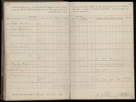 Palmerston North Rate Book, 1893 - 1896, 34