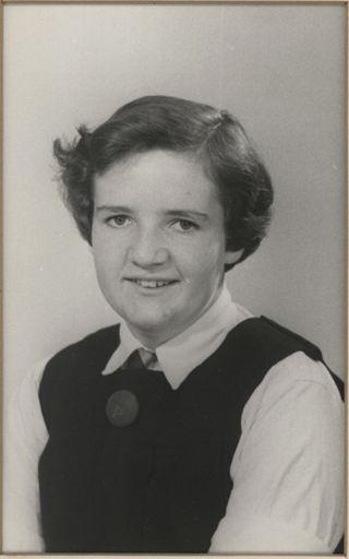 Lynne Storey - Terrace End School Dux, 1954