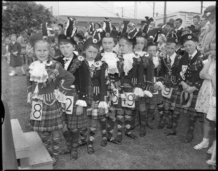 """""""Highland Dancers Awaiting Their Turn"""" A&P Show"""