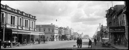 Rangitikei Street in the 1920s