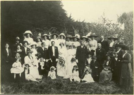 Wedding of Ethel Hughes and Jack Buick