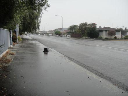 Ruahine Street during COVID-19 pandemic