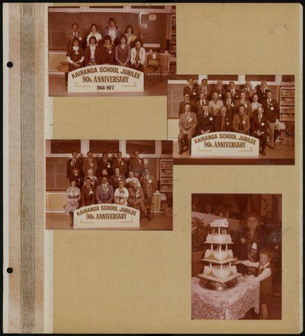 Kairanga School Jubilee photograph album