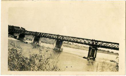 Andrews Collection: First Fitzherbert Bridge