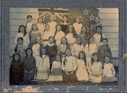 1917 Terrrace End School, Palmerston North Std IV