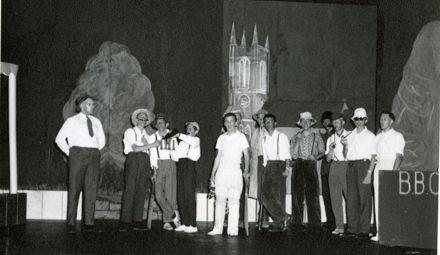 Palmerston North Boys High School operetta, 'The Batsman's Bride'