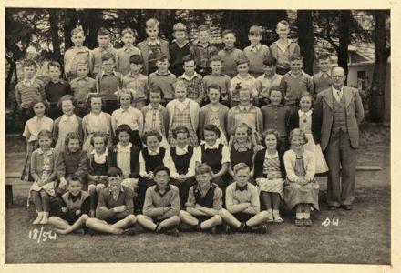 Terrace End School - Standard 4, 1954