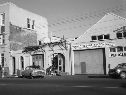 Demolition of Fire Station