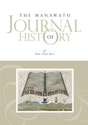 Manawatu Journal of History: Volume 2