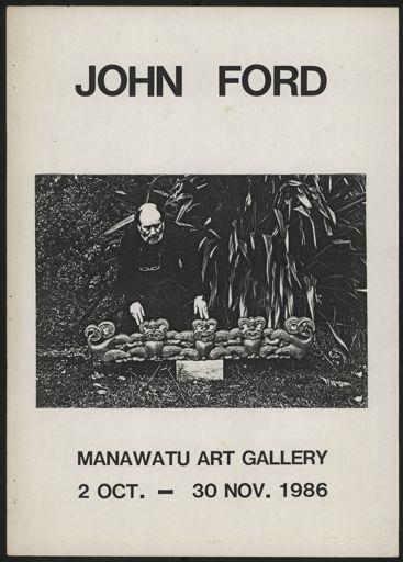 John Bevan Ford exhibition programme