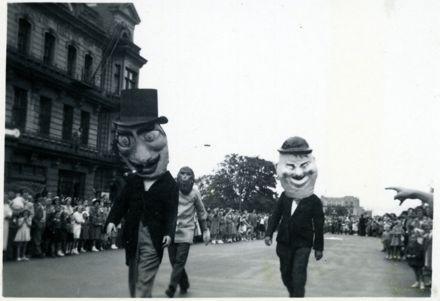 Costumed Men - 1952 Jubilee Celebrations