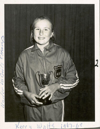 West End Amateur Swimming Champions - Kerry Watts