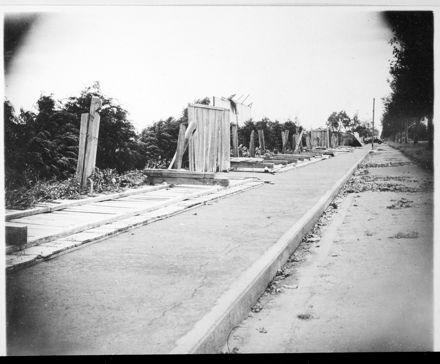 Storm Damaged Fences, Fitzherbert Avenue