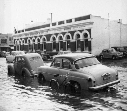 Grey Street flooding