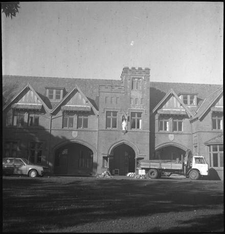Demolition of Mercy Convent, Fitchett Street