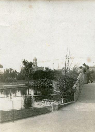 The Lakelet bridge