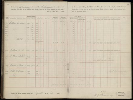 Palmerston North Rate Book, 1893 - 1896, 26