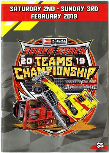2019 Superstock Teams Championship - programme