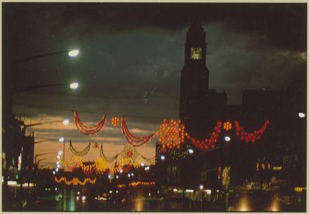 Christmas Lights on Broadway Avenue